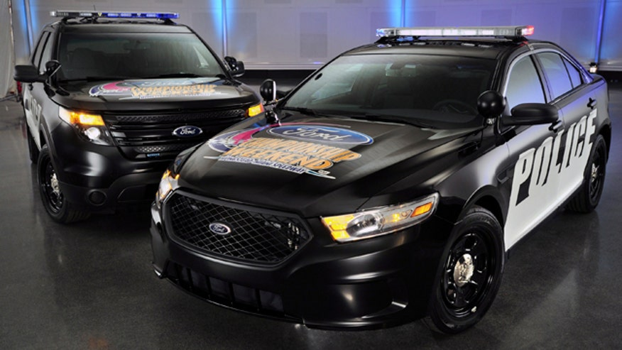 Ford Taurus and Explorer Police Interceptor