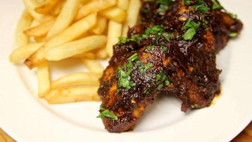 Cinco De Mayo Glazed Chicken Wings Recipes — Dishmaps