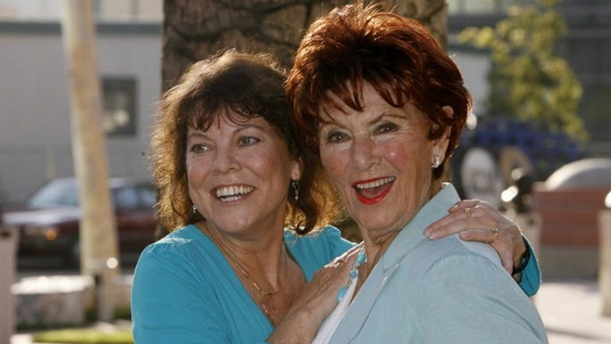 Now: Erin Moran with TV mom