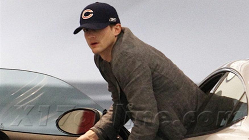 Ashton Kutcher Fisker