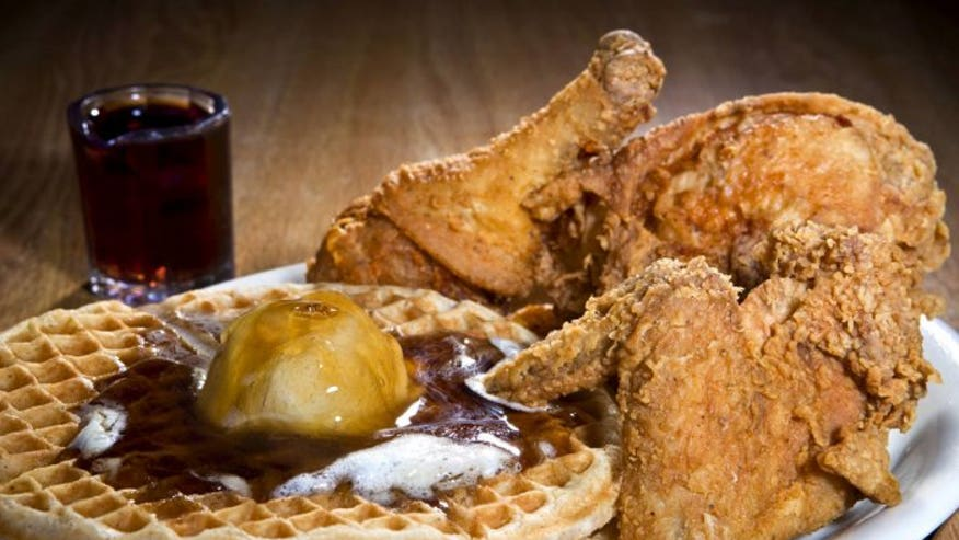 America 39 s best chicken and waffles fox news for Amy ruth s home style southern cuisine