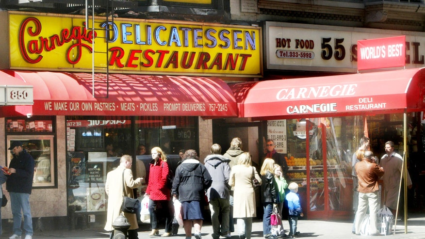 New York City's Iconic Carnegie Deli to Close Dec. 31
