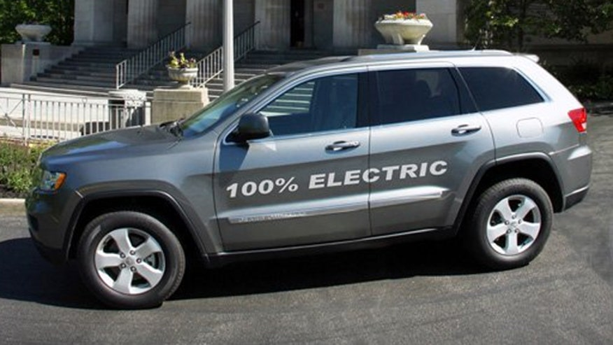 Electric Jeep Grand Cherokee