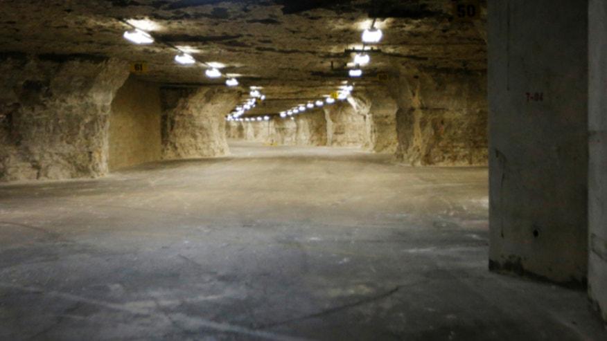 Man Cave Kansas City : Kansas caverns could preserve human race developer says