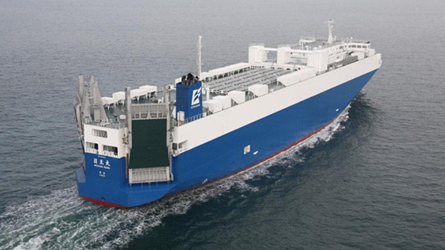 Nissan solar ship