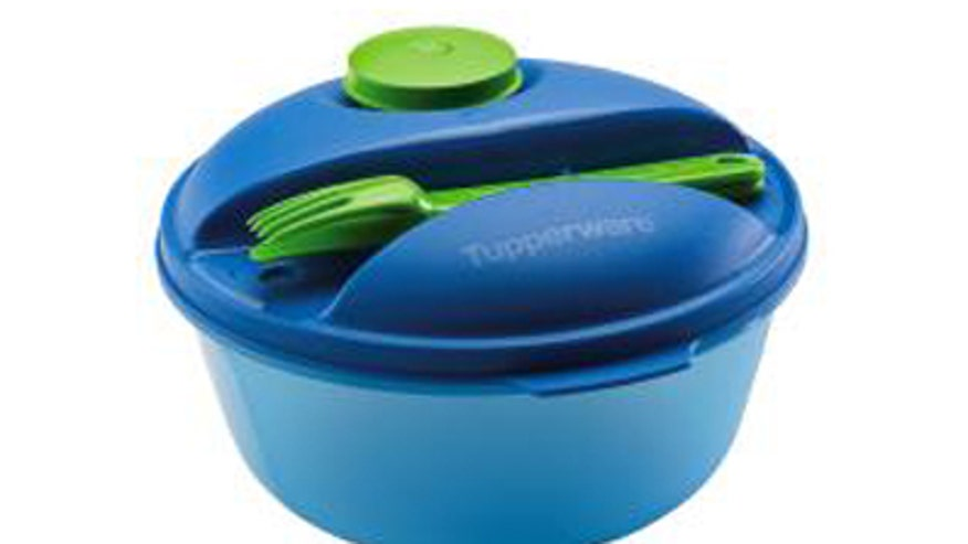 Tupperware Healthy Salad on the Go Set