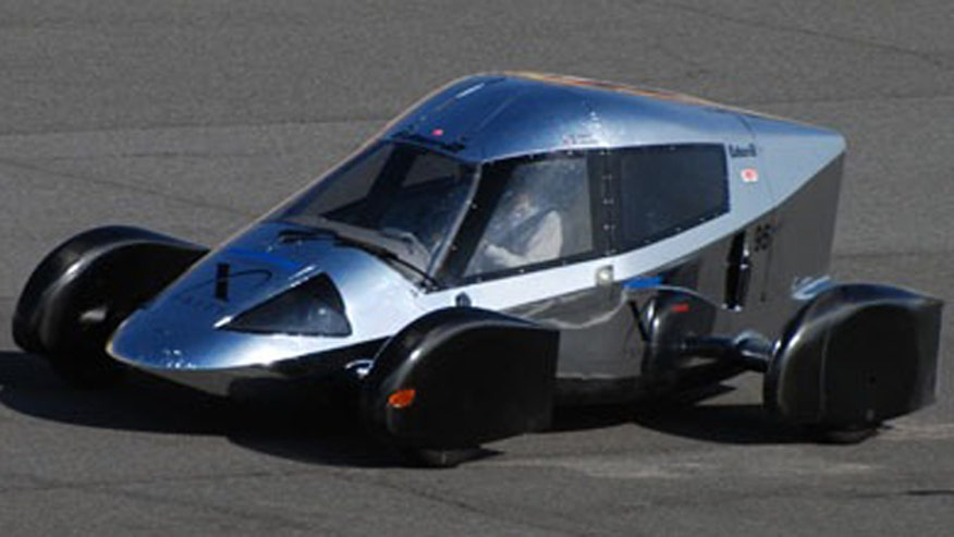 Very light car
