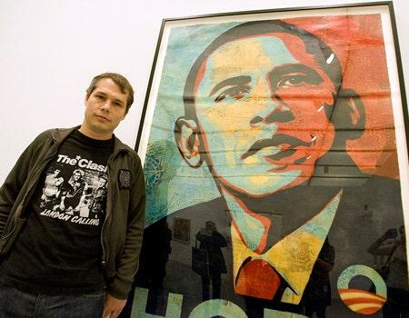Obama Hope Poster Generator Photoshop Behind Obama 'hope' Poster