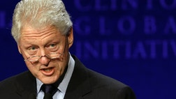 Former President Bill Clinton is said to be in ldquogood spiritsrdquo  following a procedure known as angioplasty, which involved surgeons placing two stents in one of his coronary arteries.