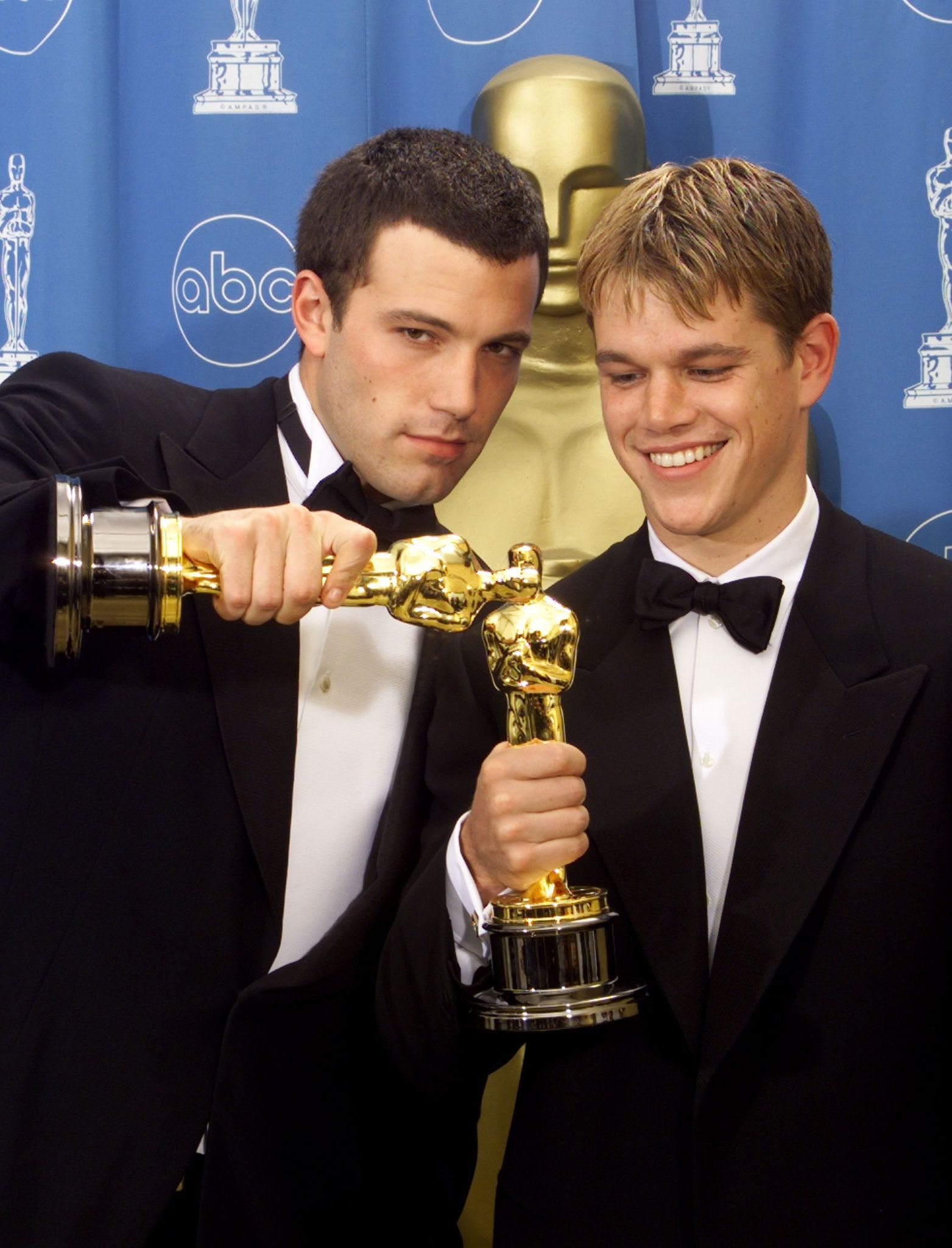 Matt Damon talks Ben A...