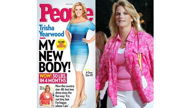 trisha yearwood weight loss tips