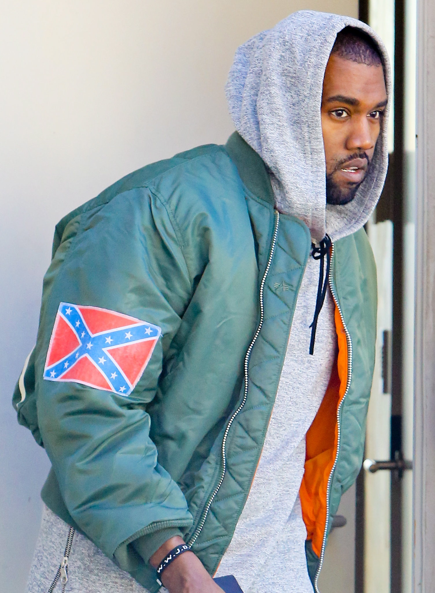 96a4c099c8f0 Kanye West once wore the Confederate flag. What does he think about ...