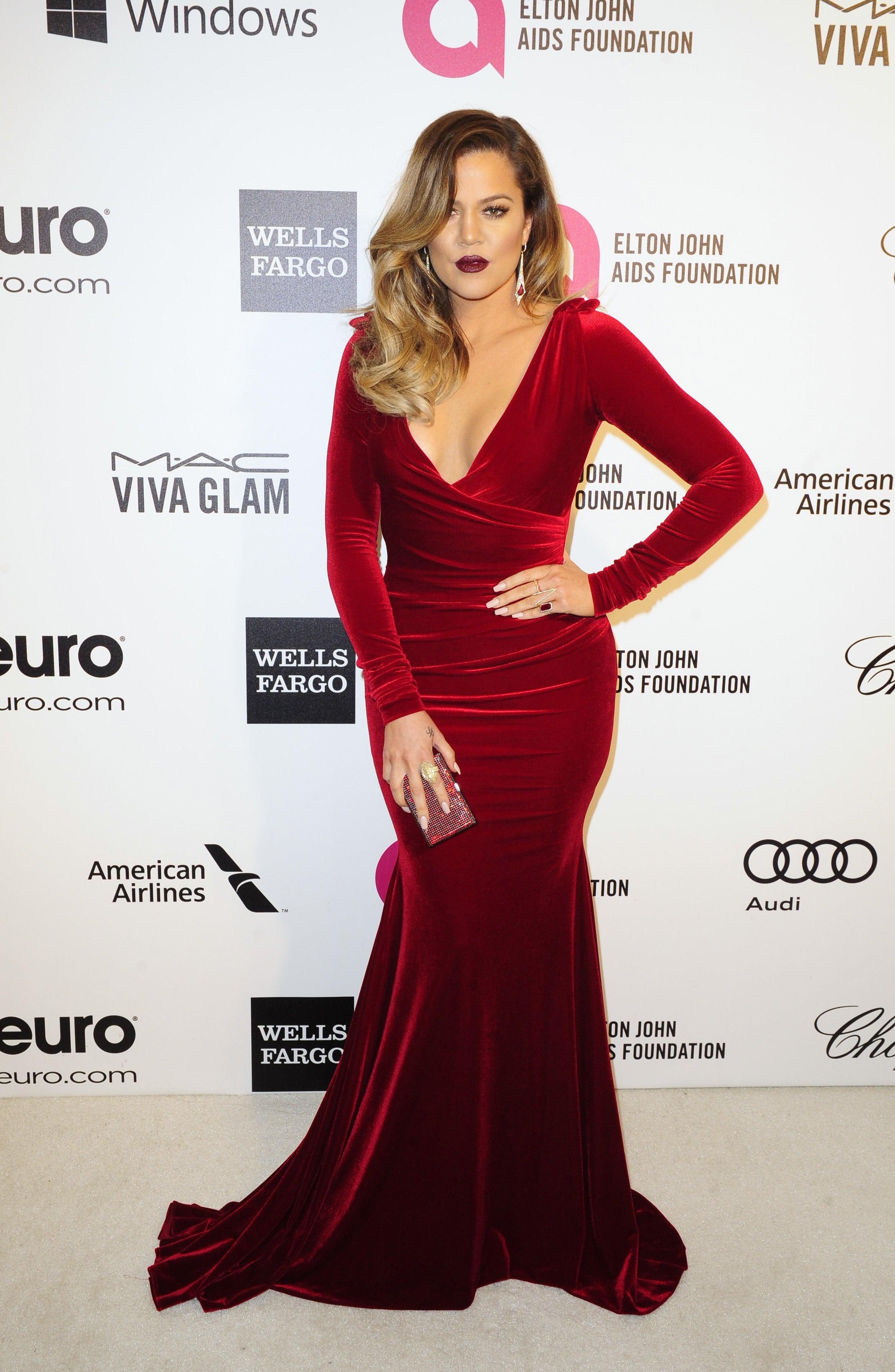 Khloe kardashian red dress for How to dress like khloe kardashian