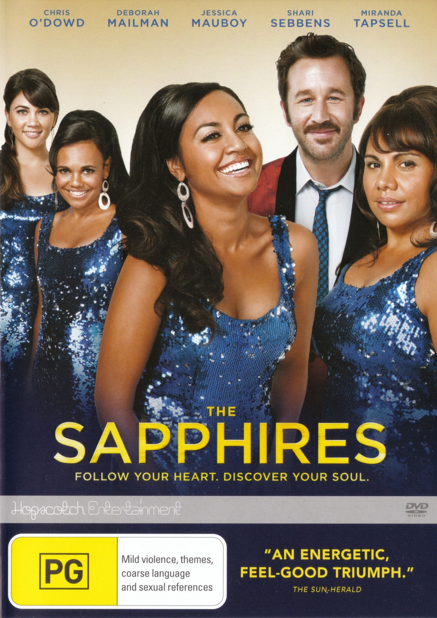 Entertainment Dvd Cover Sapphires' Dvd Cover That