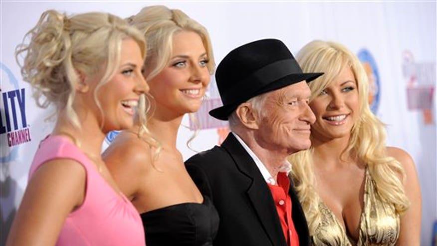 Hugh Hefner and 'The Girls Next Door'