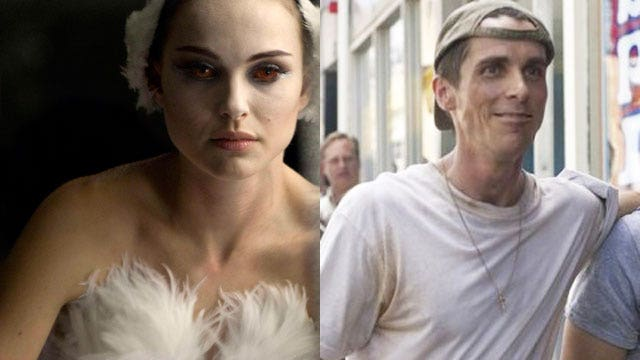christian bale movie lost weight