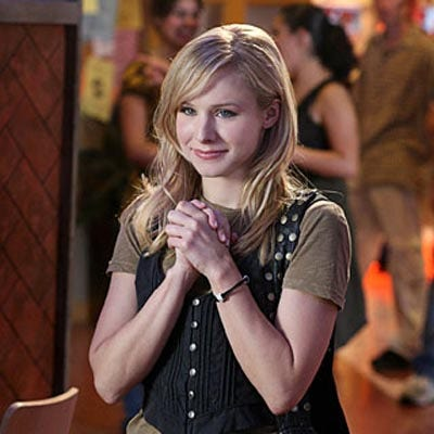 Kristen%20Bell%20as%20Veronica Kristen Bell has risked ruining Russell Brand's womanizing reputation by ...
