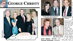 Famed Beverly Hills Courier columnist George Christy gives you an insider's peek into Hollywood's A-list parties and personalities.