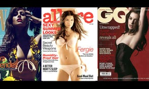 Remember when models were on magazine covers? Not anymore!