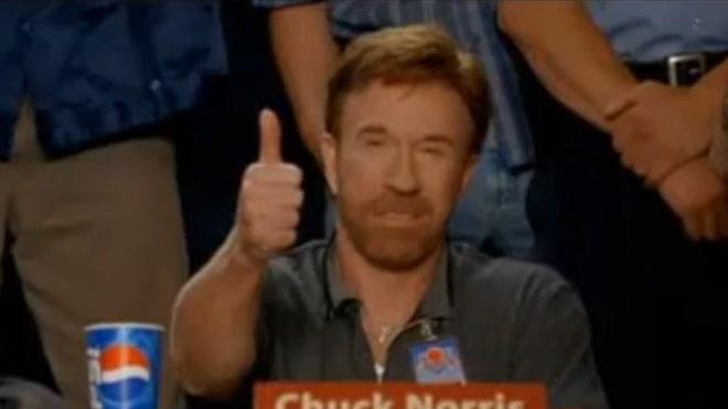 Chuck Norris in 'Dodgeball'