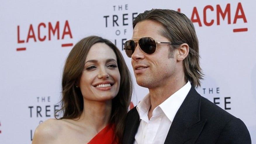 Brad Angelina May 2k11