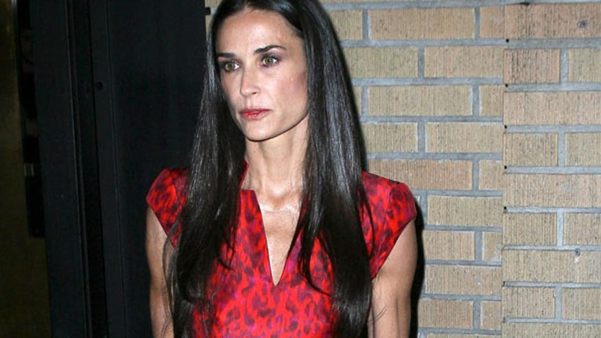 Demi Moore attends the...