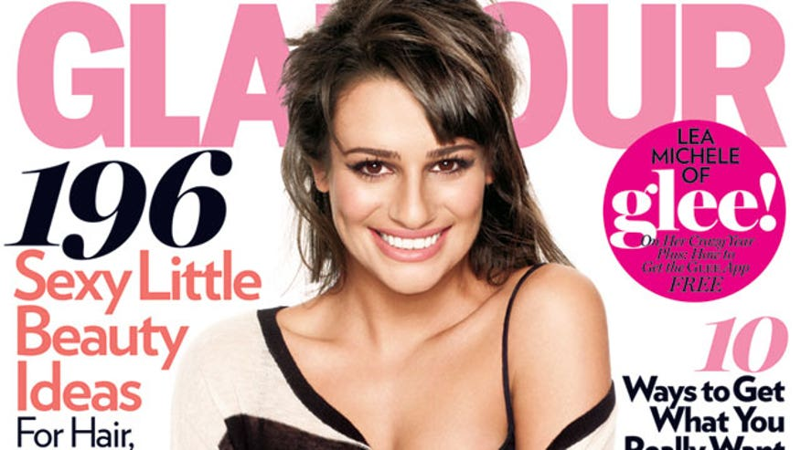 Lea Is a Glamour Cover Girl