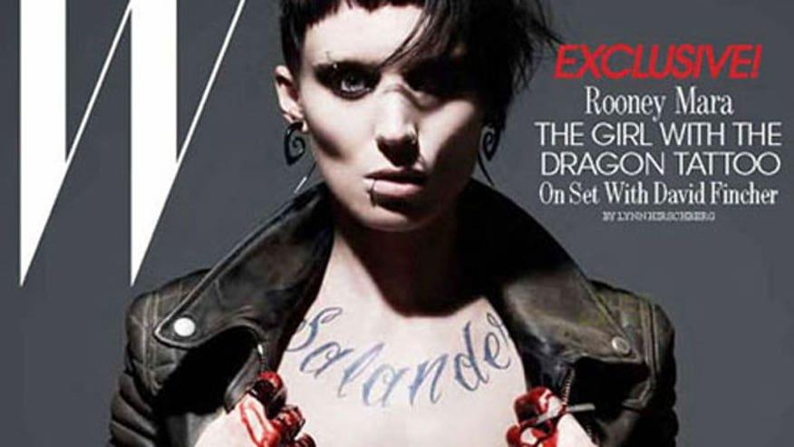 Rooney Mara as Girl W Drag Tattoo W Mag 640