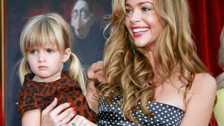 denise richards with child 640