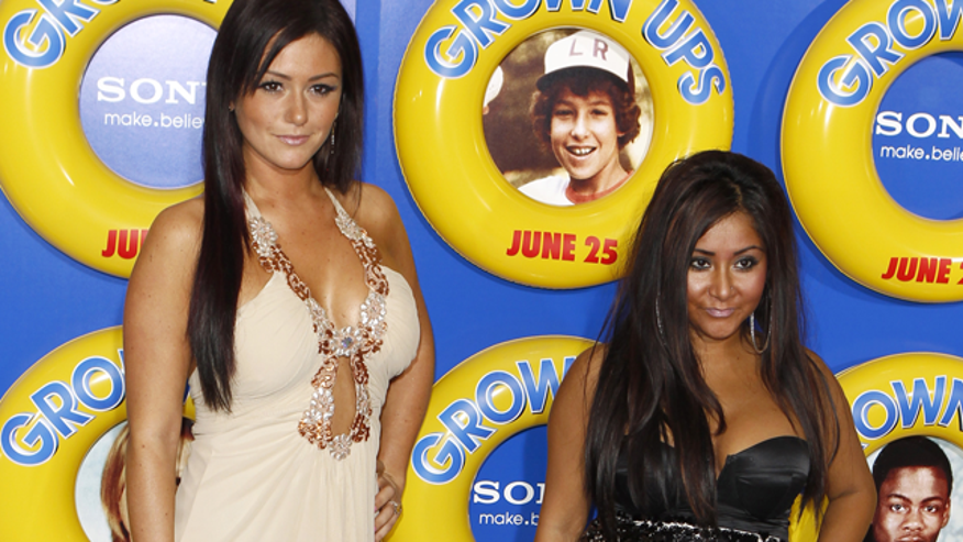 jwoww snooki red carpet 640