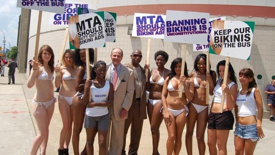 bikini protest