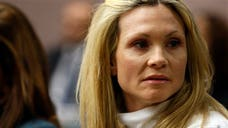 A former Melrose Place actress who was driving drunk when her SUV plowed into a car and killed a New Jersey woman has been sentenced to three years in prison.