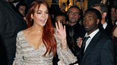Lindsay Lohan once again became the subject of drama and mayhem, reportedly involving a police presence, at her Beverly Hills home on Friday afternoon.