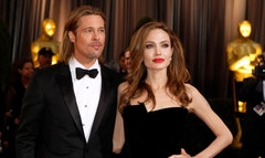 Angelina Jolie and Brad Pitt were married Saturday in Chateau Miraval, France, says a spokesman for the couple.