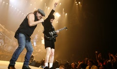 Brian Johnson said AC/DC will give it a go in the studio.