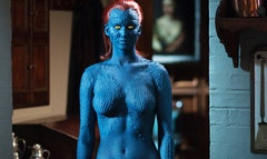 There could be a Mystique X-Men spin-off if the makeup artists can keep saving time off of Jennifer Lawrence's body painting.