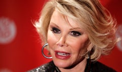 "A passionate Joan Rivers chimed in on the ongoing conflict between Israel and Islamic militants in Gaza, taking the opportunity to slam Selena Gomez for writing Pray for Gaza"" on Instagram last week."