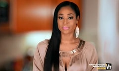 A sex tape starring 'Love and Hip Hop' star Mimi Faust has caused a shortage of super strength shower rods in discount stores across the country, TMZ reports.