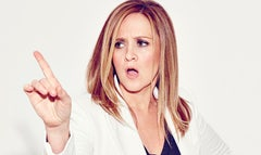Samantha Bee goes where few women have gone before when she joins the boys' club that is late-night television with the premiere of Full Frontal with Samantha Bee.