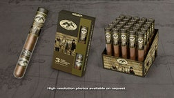 """Duck Dynasty"" super fans can buy show-themed cigars, complete with packaging featuring Phil Robertson, Willie and the rest of the gang."