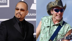 When music fans think of West Coast rapper Ice-T, Ted Nugent may not be the first name that immediately comes to mind. But that's who the rapper is teaming up with for a new documentary about the heated gun control debate.