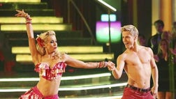 ">Perfection was (almost) everywhere on Monday night's ""Dancing with the Stars"" semi-finals."
