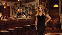 "Kirstie Alley said it was ""spooky"" walking onto the ""Cheers"" set that was recreated for her new Jenny Craig ad, which features her co-stars from the hit series George Wendt and John Ratzenberger."