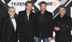 The band Duran Duran is facing opposition in its bid to play in Key Biscayne from the government of Miami-Dade County.
