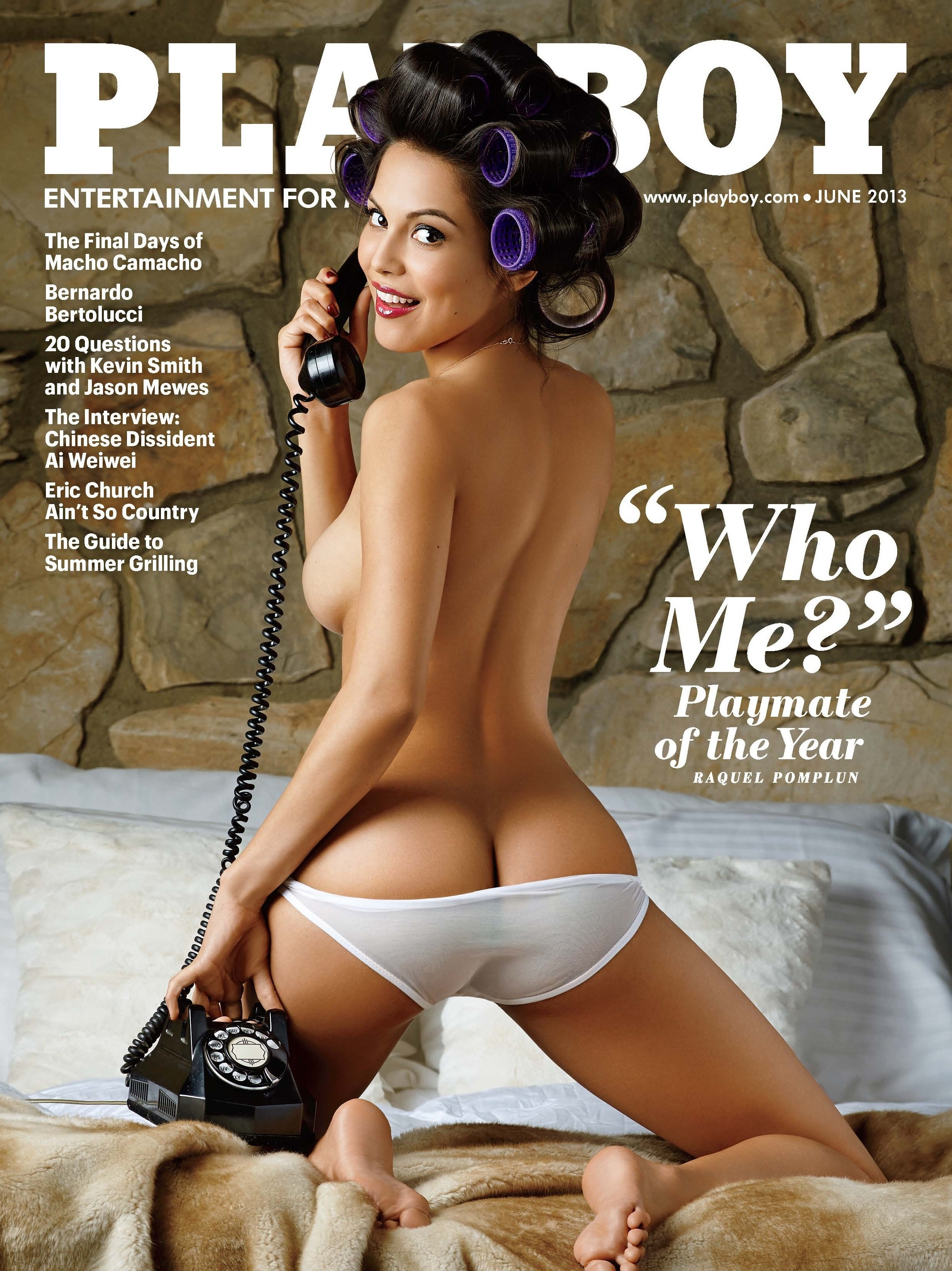Raquel Pomplun named the 2013 Playboy Playmate of the Year