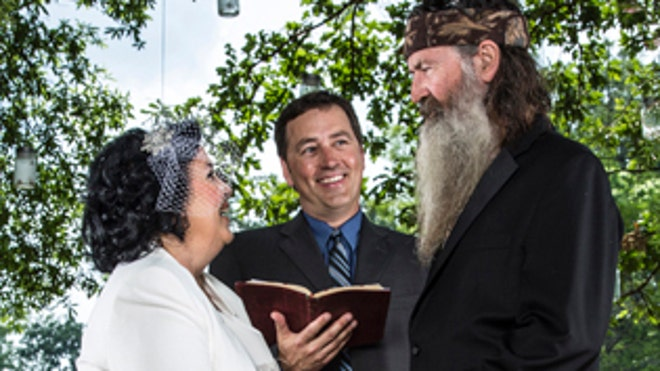 Duck Dynasty Phil and Kay Wedding