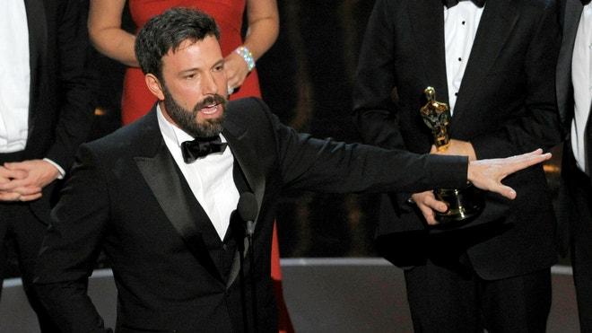 sped emotional acceptance speech mention snub films competitors films affleck
