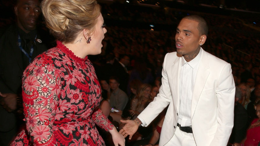 Chris Brown and Adele Grammys Celebuzz.jpg
