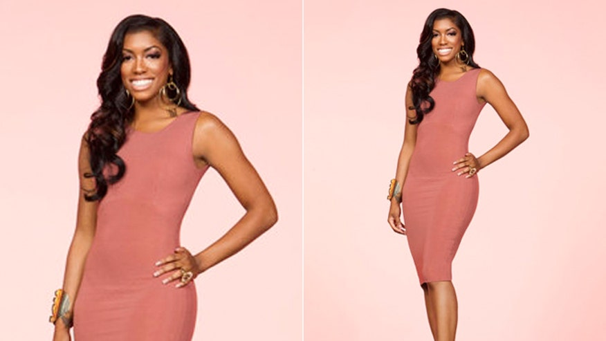 Real housewife porsha williams arrested after being pulled over for