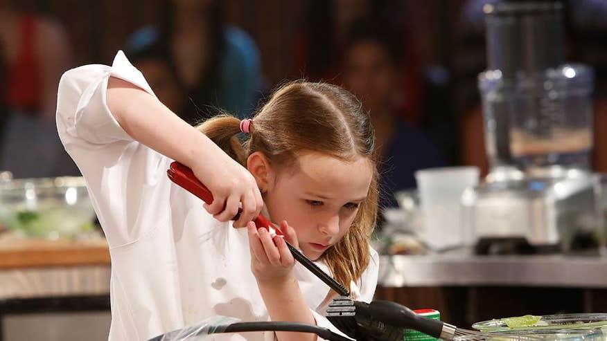 master chef junior kid hunts her own food imcluding aligators